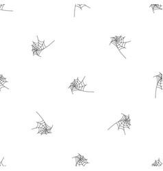 Round spiderweb pattern seamless vector