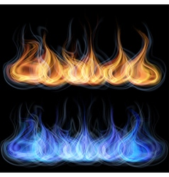 Tongues flame vector