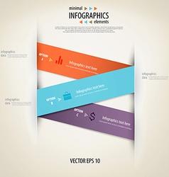 infographics minimal 3 vector image
