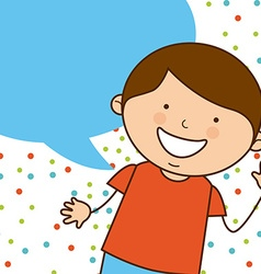cute child vector image