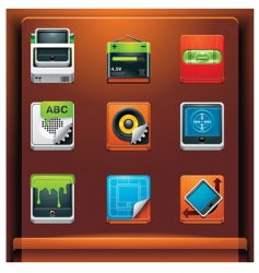 system tools vector image vector image