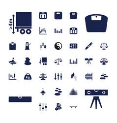 37 balance icons vector