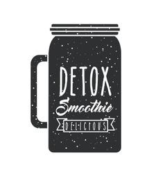 detox smoothie concept vector image