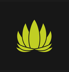 Lotus abstract logo vector