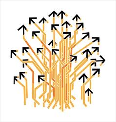 Many Arrows vector