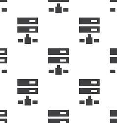 net drive seamless pattern vector image