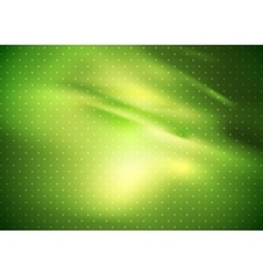 Abstract green gradient smooth background vector image