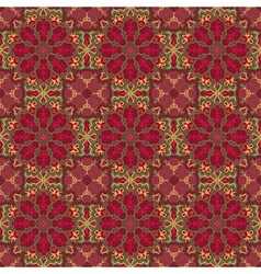 Seamless colorful pattern East ornament vector image