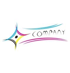 CMYK logo vector image