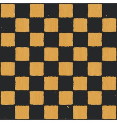vintage chess board background vector image