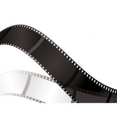 film shadow bend vector image
