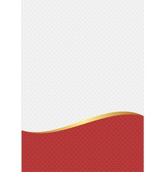 white red vector image