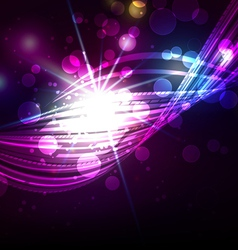 Abstract Lines with Light Background vector