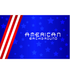 american flag background abstract vector image