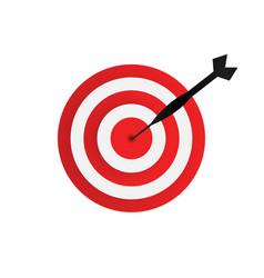 dart arrow graphic design element vector image