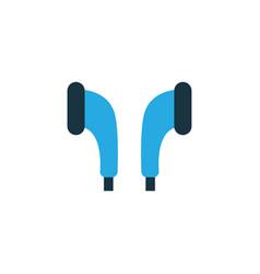 earmuff colorful icon symbol premium quality vector image