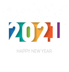 Happy new year 2021 background brochure or vector