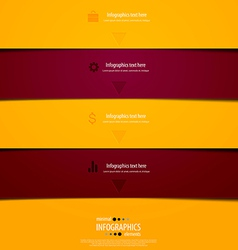 infographics minimal 8 vector image