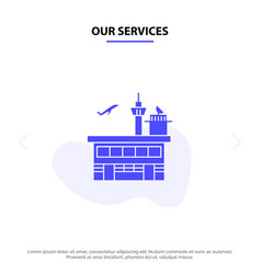 Our services airport conveyance shipping transit vector