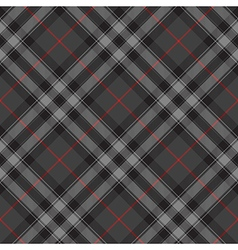 Pride of scotland silver tartan diagonal texture vector image