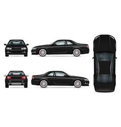sport car template vector image