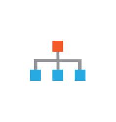 Structure flat icon symbol premium quality vector