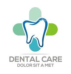 Logo Dental Care Tooth Protection Oral vector image