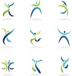 pepole icon vector image vector image