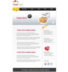 web templates vector image vector image