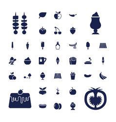 37 fresh icons vector