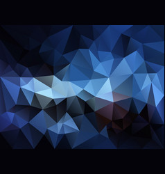 Abstract irregular polygon background blue vector