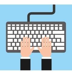 Avatar person user computer vector
