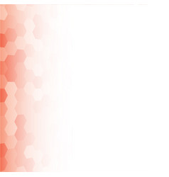 banner red random square mosaic tiles vector image