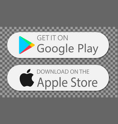 Google pay and app store app pay vector