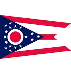 Ohioan state flag vector