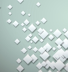 White Squares on Blank Background vector