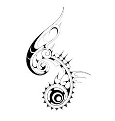 Ethnic tattoo vector image vector image