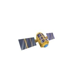 Image space satellite vector image