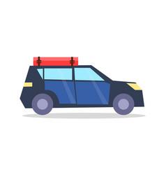 car transport for journey vector image