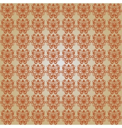 classic brown pattern vector image