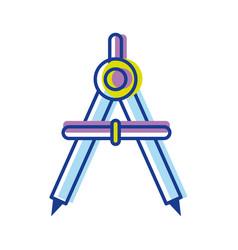 Compass study tool to do circles vector