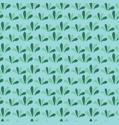 green grass seamless background floral green vector image