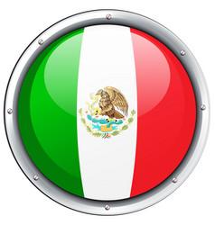 Icon design for mexico flag vector
