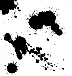 ink vector image