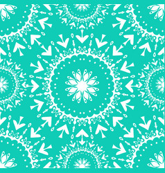 seamless pattern vintage ethnic ornament vector image