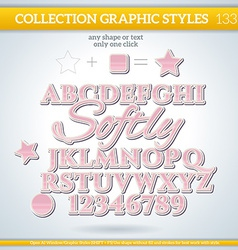 Softly Graphic Style for Design vector