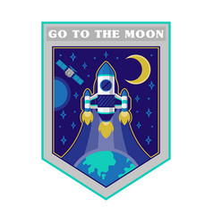 space patches vector image
