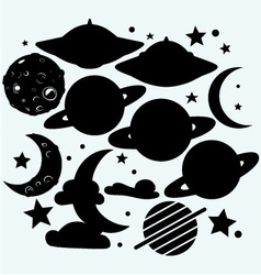 Outer space vector image
