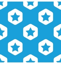 Favorite hexagon pattern vector image vector image