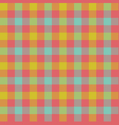 check tablecloth seamless pattern vector image vector image